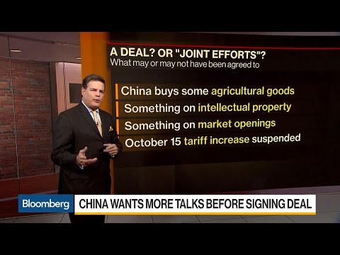 What China Wants Out of Trade Deal With U.S. – YouTube