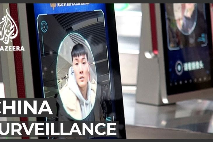Facial recognition: Concerns over China's widespread surveillance