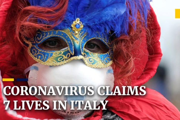 Italy's coronavirus outbreak becomes worst outside Asia, with 7 dead and more than 220 infected