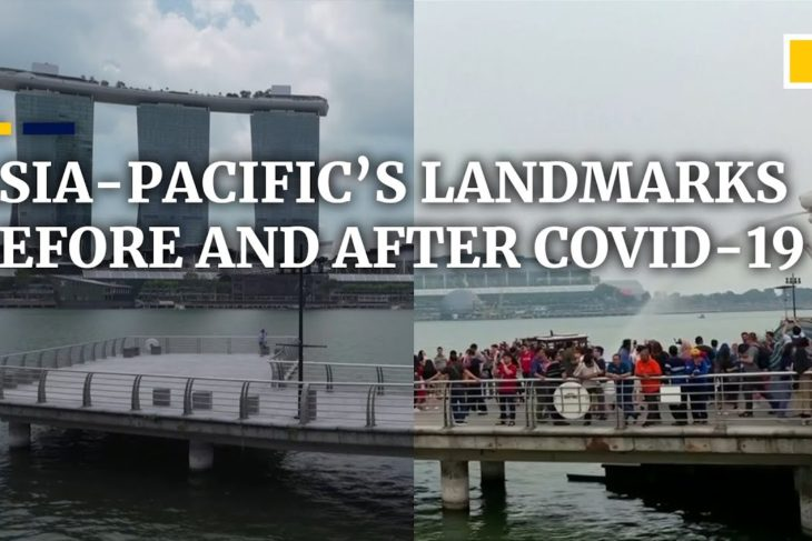 Then and now: Asia-Pacific landmarks emptied by the coronavirus pandemic