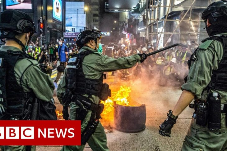 Hong Kong's new security law