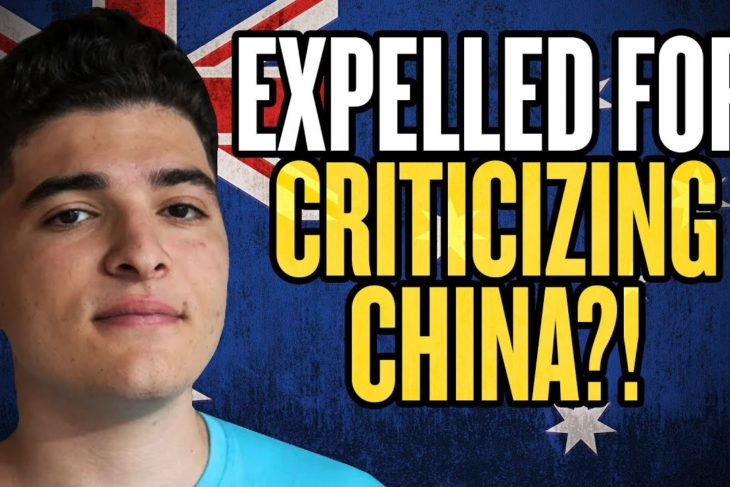 Expelled for Criticizing China in Australia?!