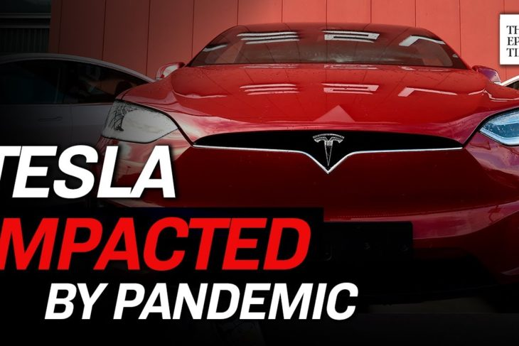 Tesla Plant in Shanghai Shuts Down Due to Pandemic's Impact | CCP Virus