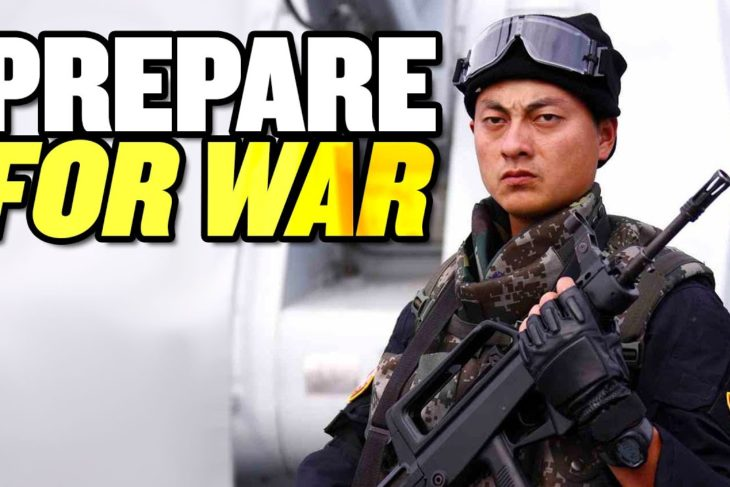 """China Must """"Prepare for War:"""" Xi Jinping 