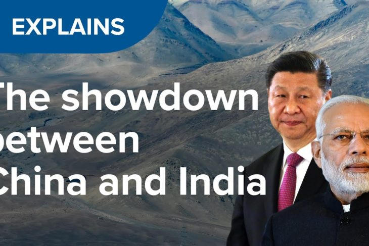What is the dispute between China and India all about?