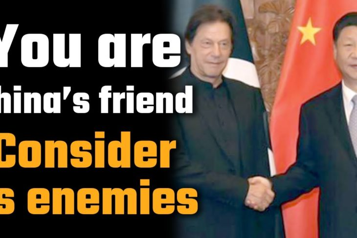 Pakistan is now at the world's crosshairs for being a friend of China