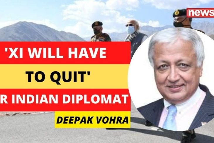 'Xi will have to quit, CCP end is nigh' | Indian Diplomat on Modi Ladakh Visit