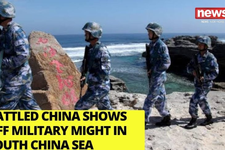 Rattled China shows off military might in S China Sea