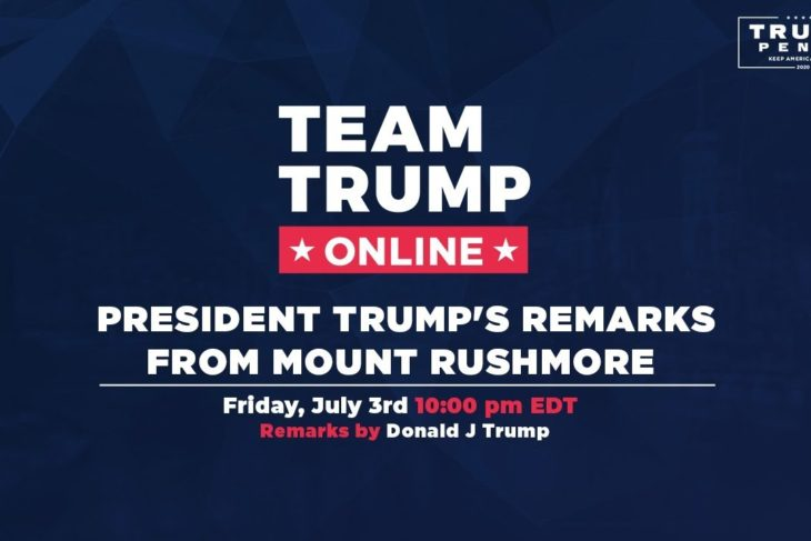 Freedom for Day: President Trump's Remarks from Mount Rushmore! – Government by the People for the People