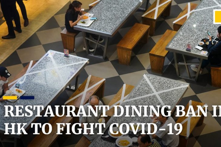 Hong Kong bans all dine-in services at restaurants in attempt to contain third wave of Covid-19