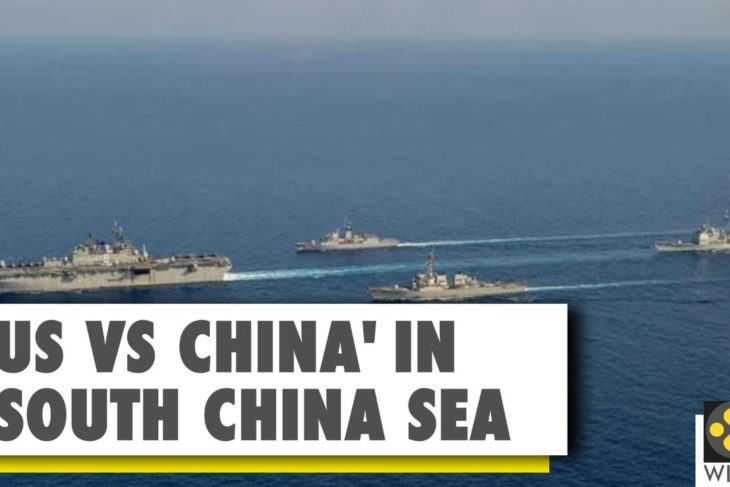 US sends navy ships to South China sea amid rising tensions with China