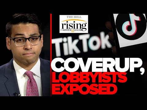 EXPOSED – DC Lobbyists Taking Chinese Cash, Media Coverup For TikTok.