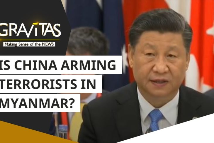 Is China arming terrorists in Myanmar?