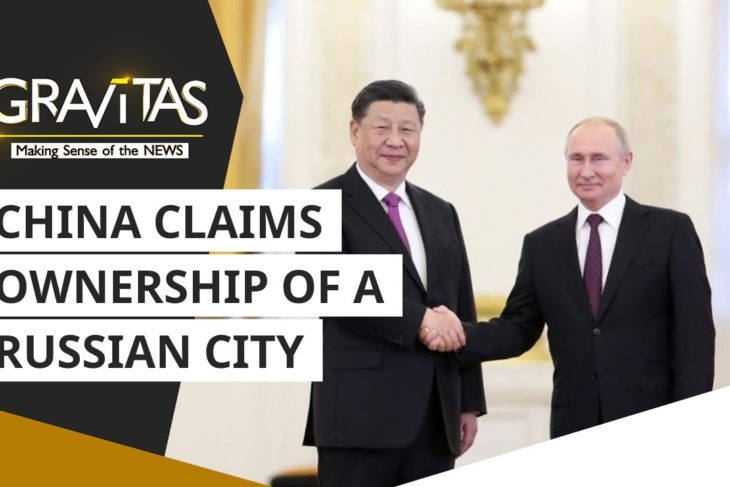 China claims ownership of a Russian city