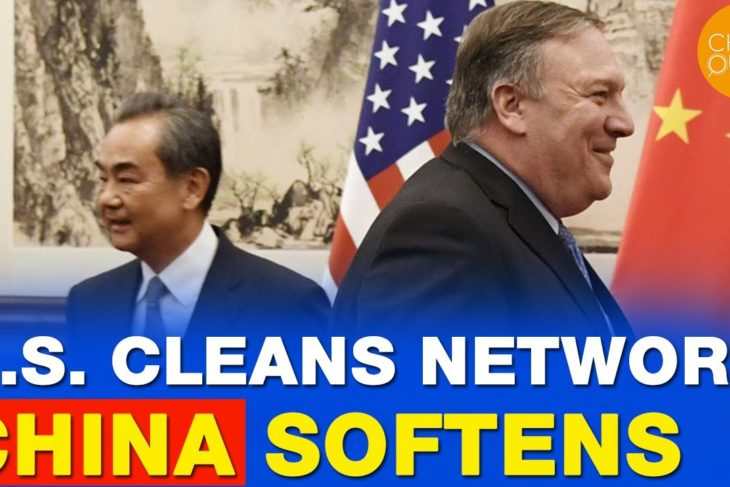 China softens as US announces Clean Network | WeChat and TikTok's infiltration overseas