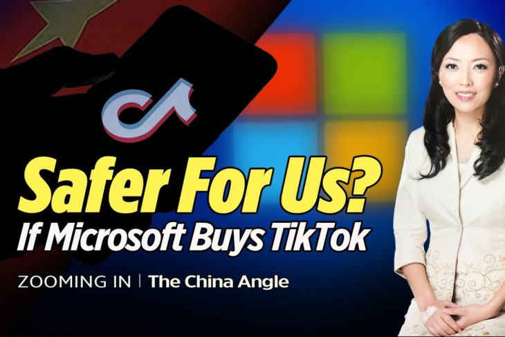 Will We Be Safer If Microsoft Buys Tiktok? – The China Angle with Simone Gao