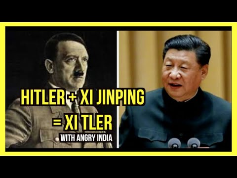 Xi + Hitler = Xi-tler (comparison what they've done until now)
