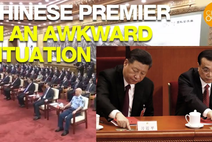 The recent clash between China's Premier Li Keqiang and Chairman Xi Jinping puts Chinese Premier in an awkward situation