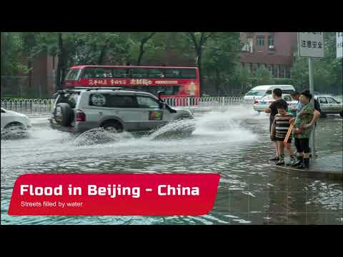 Flooding in Beijing & Jilin – China – August 1-2, 2020