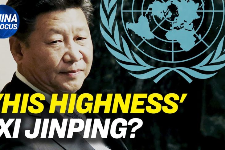 Did the UN just shatter Xi Jinping's emperor dream?; Students protest desperately in China