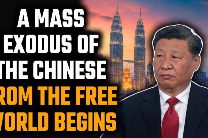 Non-Resident Chinese are running back to China from Malaysia