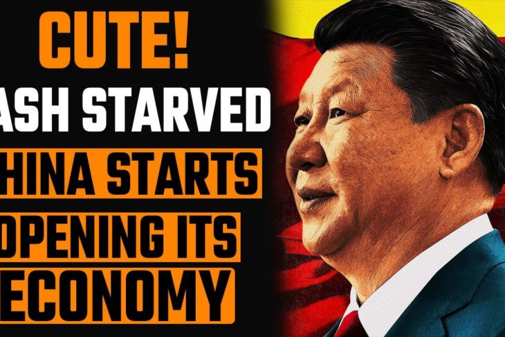 Lookie Lookie! China is opening its economy