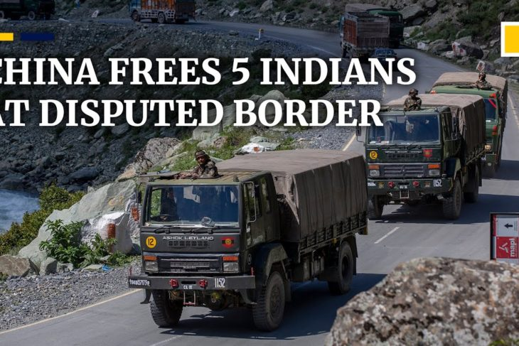 China-India border dispute: China frees detained Indians after sides agree to 'quickly disengage'
