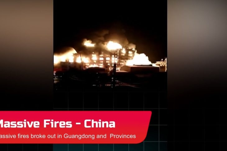 China Fires: Large fires broke out in Guangdong and Jilin Provinces – Oct. 25_27, 2020
