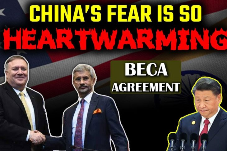China melts like cheap wax after India and US sign the BECA pact