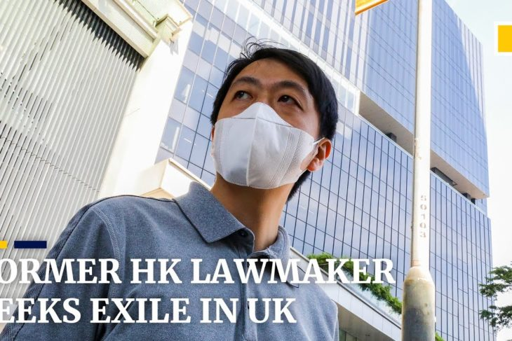 Former Hong Kong opposition lawmaker Ted Hui seeking exile in the UK
