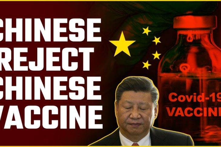 90 per cent of Chinese workers say NO to China's fake Covid vaccine