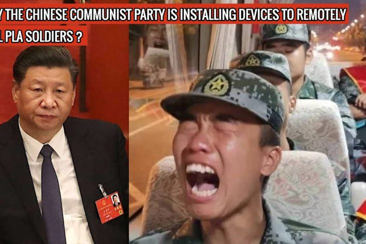 CHINESE COMMUNIST PARTY CAN NOW KILL PLA SOLDIERS WITH A BUTTON ! PROVES PLA IS JUST CANNON FODDER !