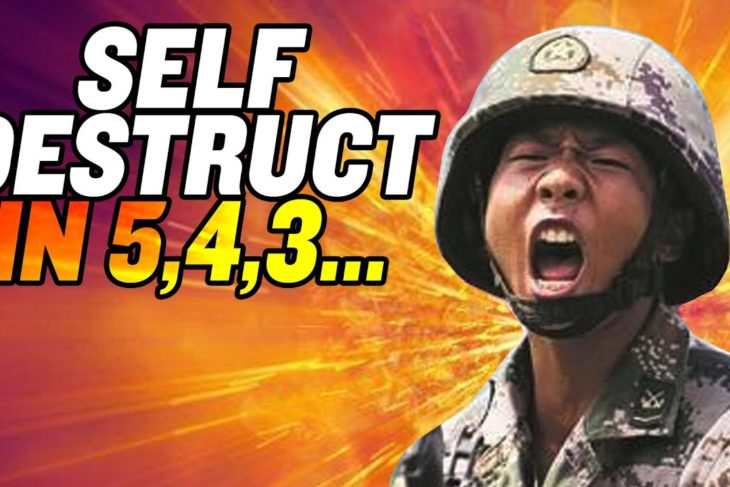 """""""Self-Destruct Helmets"""" for Chinese Soldiers? 