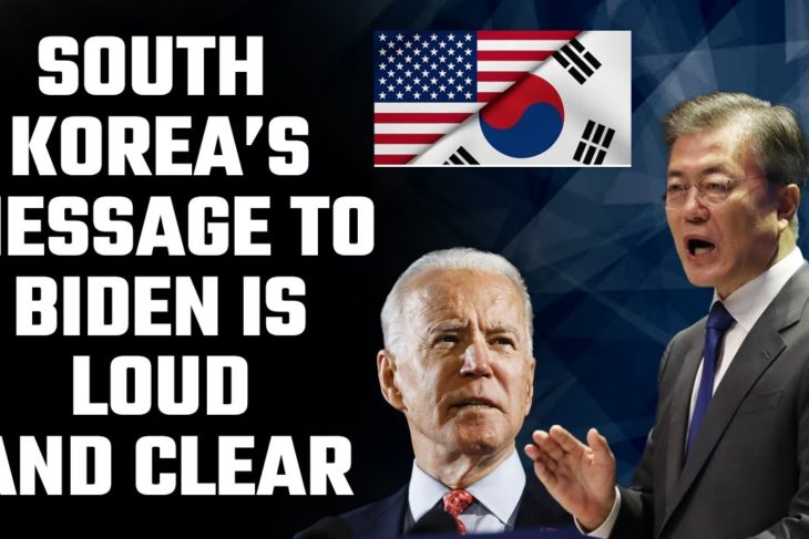 As Biden was being sworn in, a new development was taking place in South Korea
