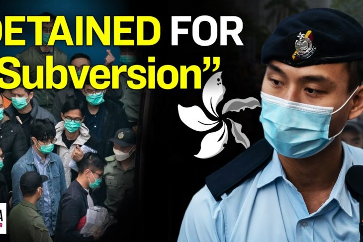 Leading Hong Kong Dissidents Charged with Subversion