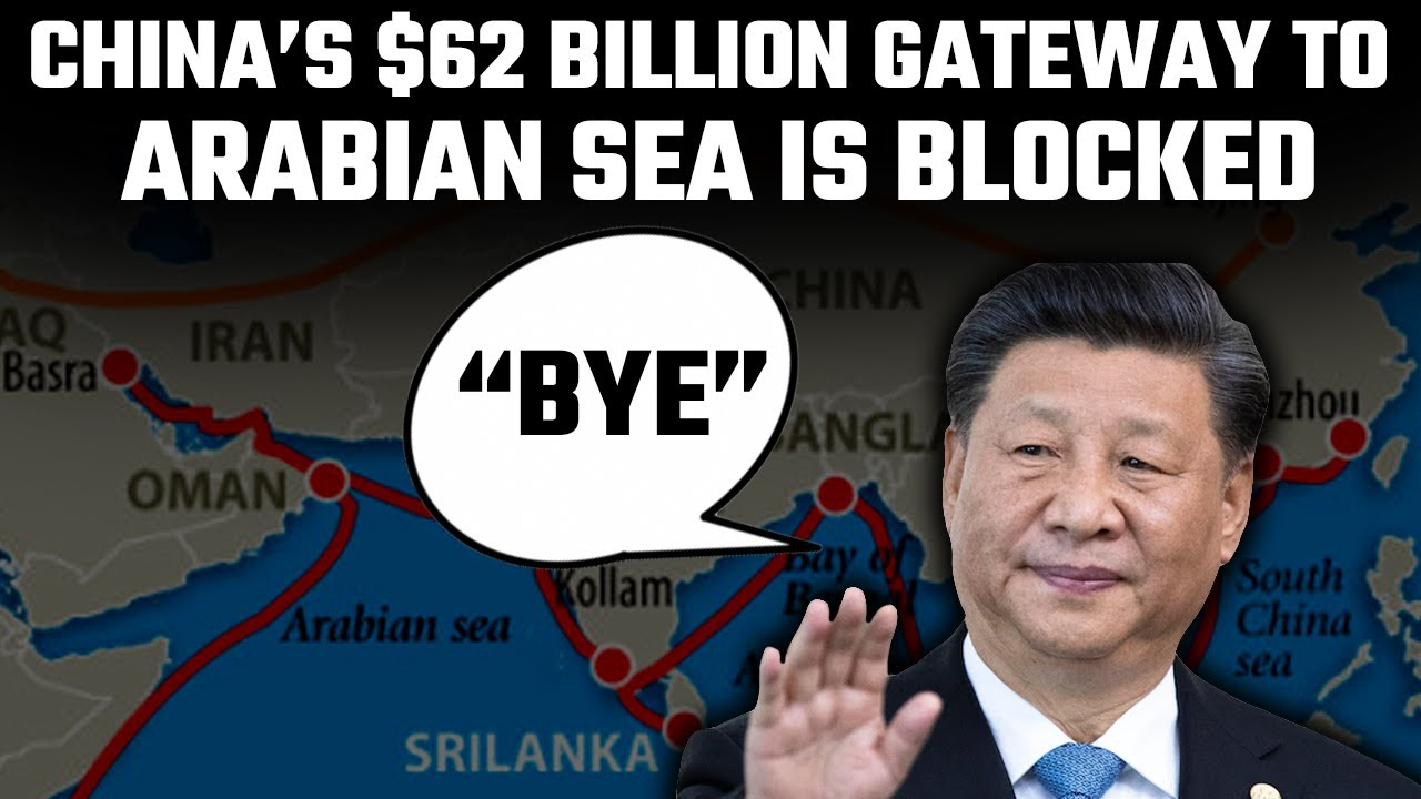 China's dream of conquering the Arabian sea is shattered