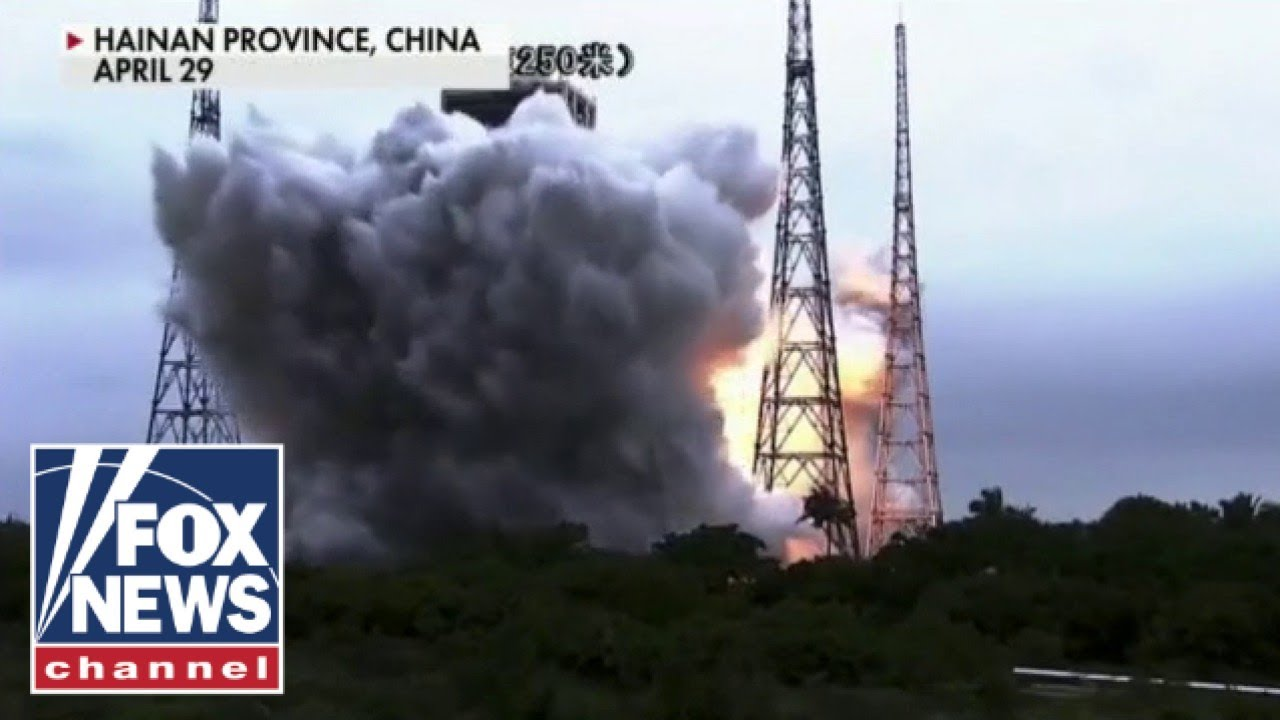 Enormous Chinese rocket could crash back to Earth