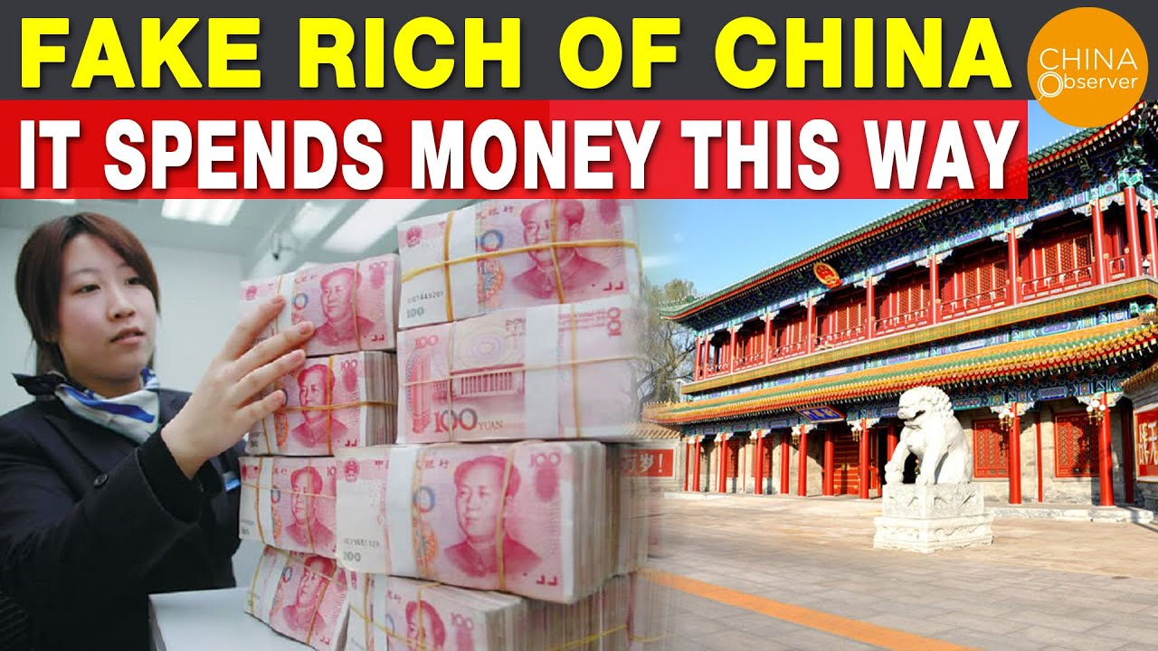 Fake rich of China, it spends money this way| Where China's Money Is Really Going? |