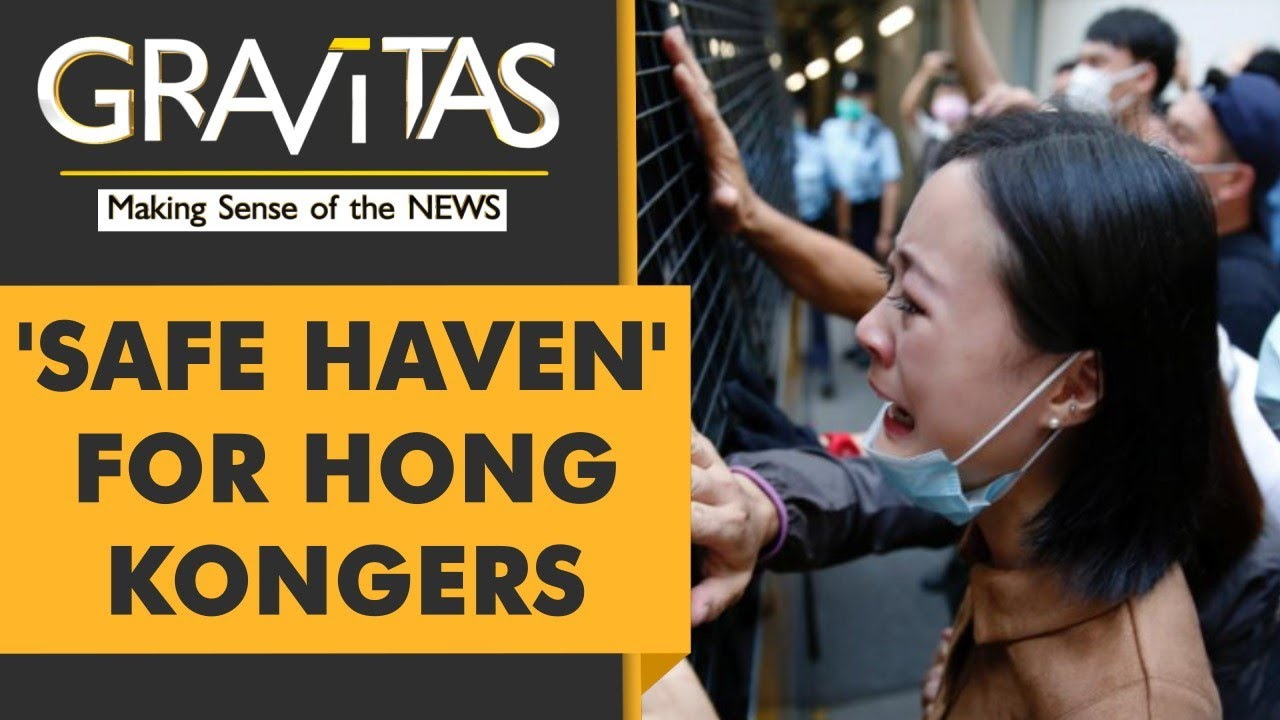 U.S. to provide 'safe haven' to Hong Kongers