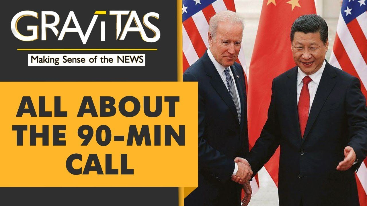 Biden dials Xi Jinping for the first time in 7 months